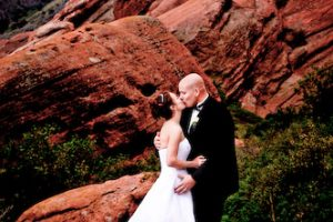 Renee and Robert's Red Rocks Chapel Wedding