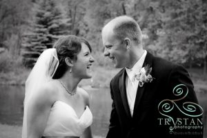 Erin and Brian's Rainy but Dreamy wedding at the Sylvan Dale Ranch