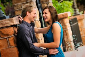 Katie and Bryce's Fun Engagement Session in Manitou Springs