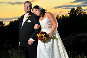 Erin and Tom's perfect wedding at The Ridge at Castle Pines North
