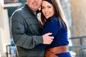 Ashley and Michael's Downtown Fort Collins Engagement Session