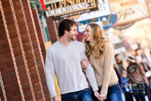 Kasia and Michael's Perfect Winter Engagement Session in Breckenridge