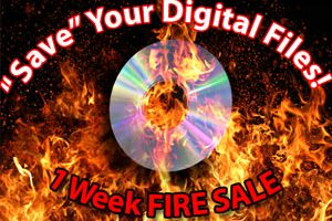 "Save your image files! ""Spring Cleaning"" fire sale on digital portrait files"