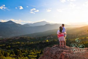 Jennifer and Matt's Garden of the Gods Engagement Session