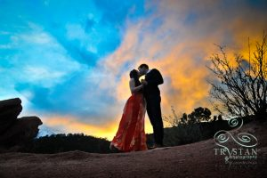 Makenzie and Scott's Engagement Session at the Garden of the Gods