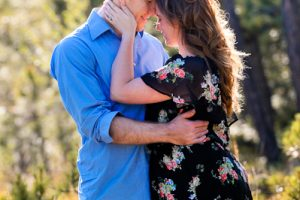 Heather and Mark's morning engagement at Black Forest Regional Park