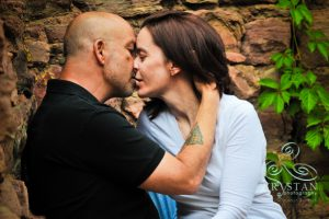 Valerie and Shawn's Couple's Session at Miramont Castle in Manitou