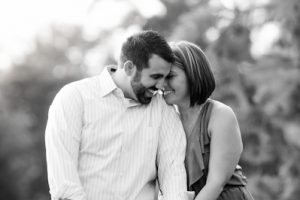 Tori and Tony's Engagement Session at City Park, Denver