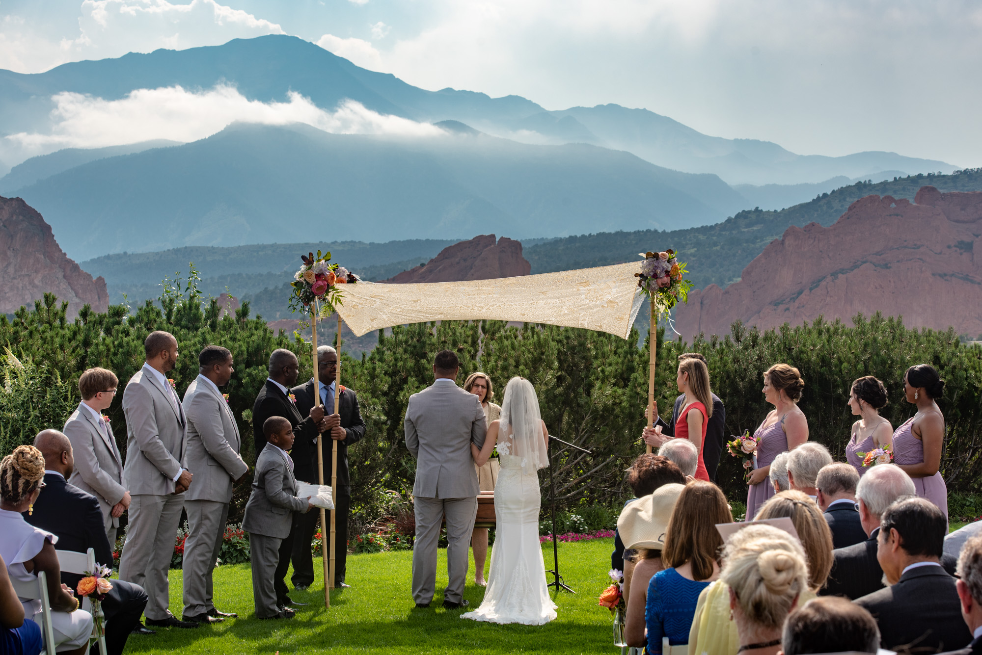 Selected Weddings At The Garden Of The Gods Club In Colorado Springs