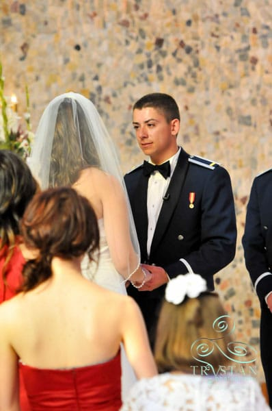 Brandi and Andrew's Windy USAFA Cadet Chapel Wedding