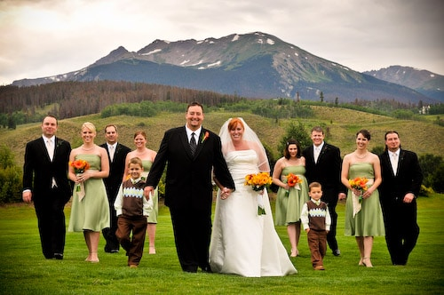 Wedding Spotlight: Bree and Brian's Wedding at the Silverthorne Pavilion