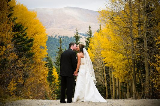 Gallery Spotlight: Kelly and Jacob's Wedding at St. Mary's and Thunder Mountain Lodge in Breckenridge.