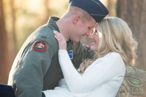A Winter Engagement Session at Fox Run Park: Angelique & Marcus