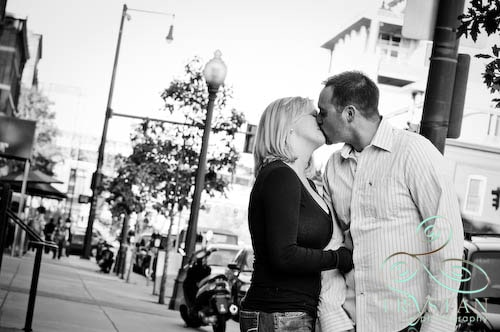 Engagement Spotlight: Kristen and Dave Downtown Denver by Union Station