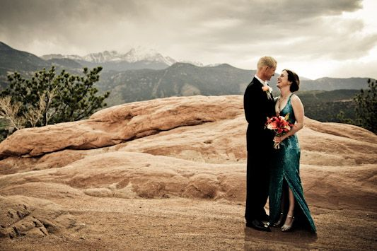 Sarah and Steve's Intimate Garden of the Gods Wedding
